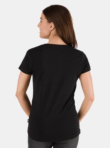 Černé dámské tričko s potiskem SAM 73 Meria