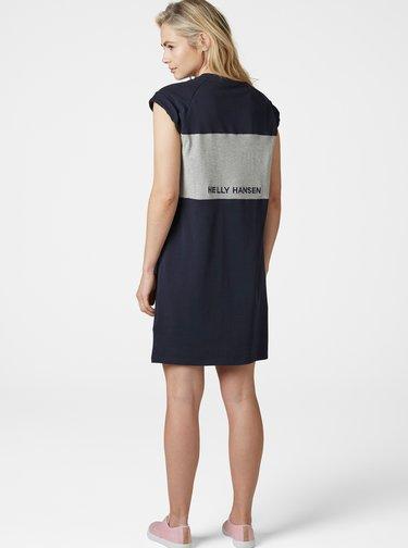 Tmavě modré šaty s potiskem HELLY HANSEN Active
