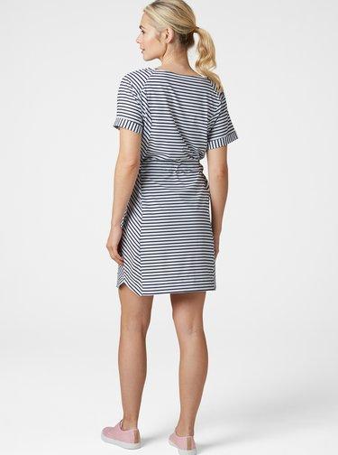 Bílo-modré pruhované šaty HELLY HANSEN Thalia