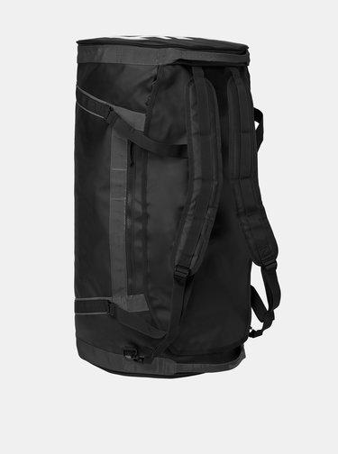 Černá nepromokavá cestovní taška/batoh HELLY HANSEN Duffel 50 l