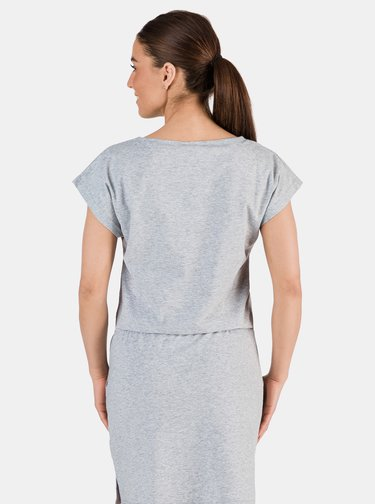 Svetlošedé dámske šaty SAM 73