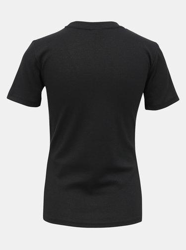 Černé basic tričko Jacqueline de Yong Kissa