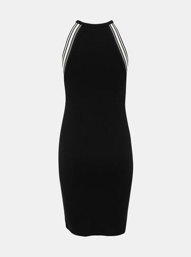 Černé pouzdrové šaty Noisy May Valsan