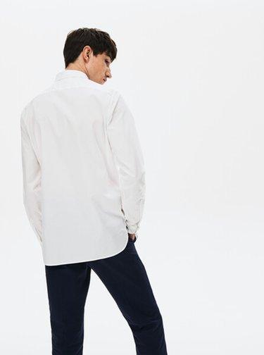 Bílá pánská košile Lacoste