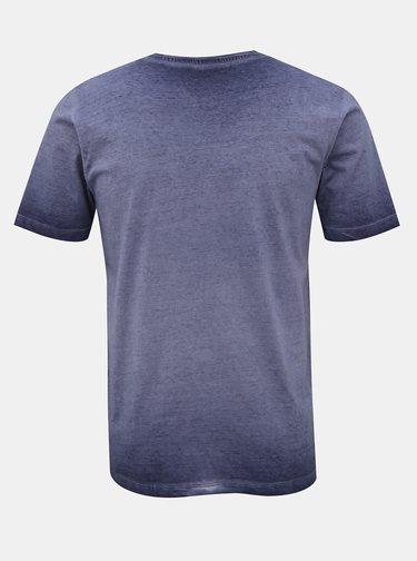 Modré tričko s potiskem Jack & Jones Abre