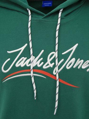 Zelená mikina Jack & Jones Flexx