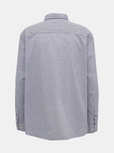 Světle modrá vzorovaná košile Jack & Jones Dylan