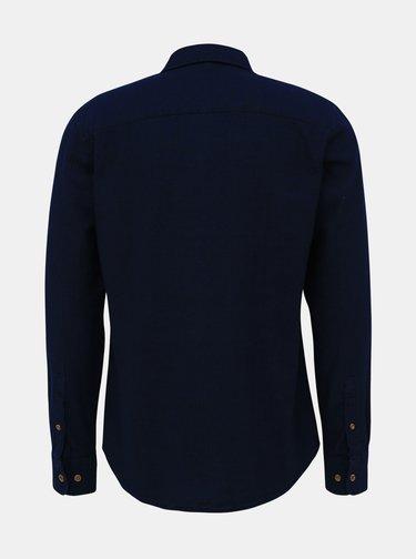 Tmavě modrá džínová košile Jack & Jones Jaques