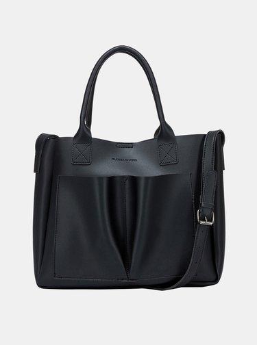 Černá kabelka s odnímatelným pouzdrem Claudia Canova Megan
