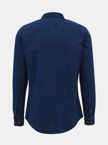 Modrá rifľová košeľa Jack & Jones Jaques