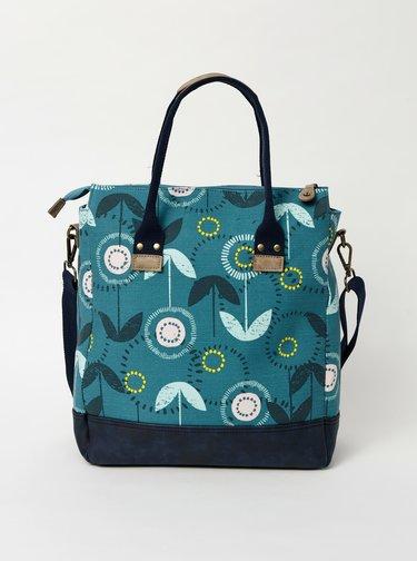 Modrá květovaná kabelka Brakeburn Olivia
