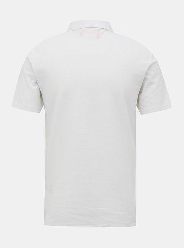 Tricouri polo pentru barbati Guess - alb