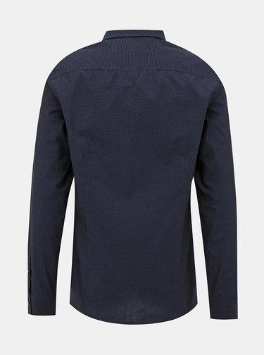 Camasi casual pentru barbati Guess - albastru inchis