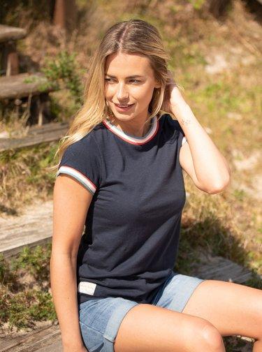 Tmavě modré tričko Brakeburn