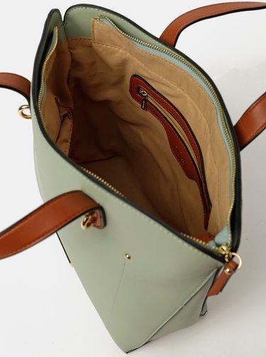 Svetlozelená kabelka Hampton