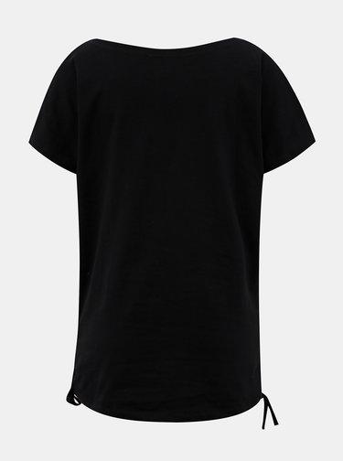 Černé dámské tričko LOAP Adelie