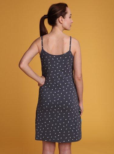 Šedé vzorované šaty LOAP Adreada