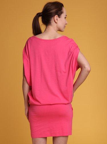 Růžové šaty LOAP Aslana