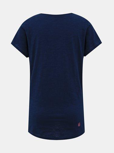 Modré dámské tričko LOAP Blackie