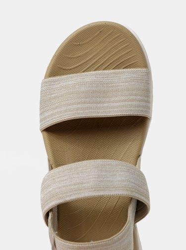 Béžové dámské sandály LOAP Drew
