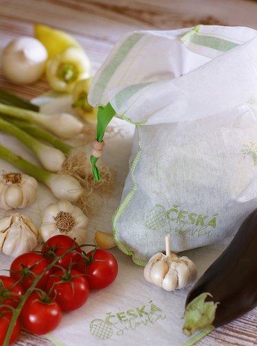 Potravinové ekologické vrecúško Česká síťovka