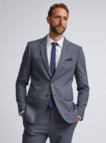 Tmavě modrá kravata Burton Menswear London
