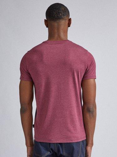 Modro-vínové tričko Burton Menswear London Tee