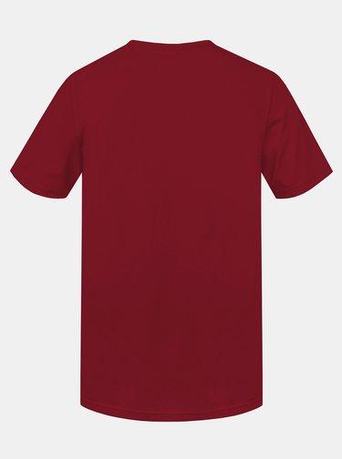 Červené pánske tričko s potlačou Hannah Matar