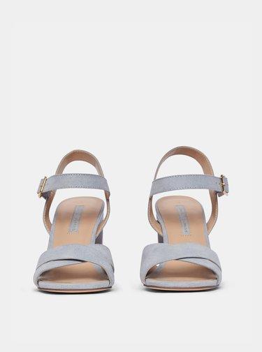 Světle modré sandály v semišové úpravě Dorothy Perkins