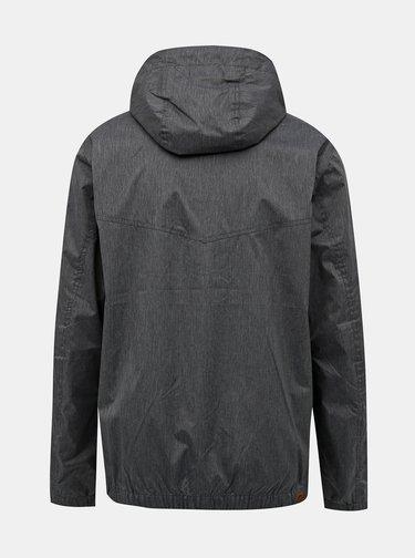 Šedá pánska vodeodolná bunda Hannah Deplozo