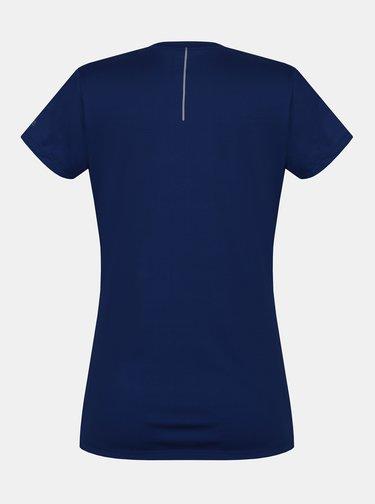 Tmavomodré dámske funkčné tričko s potlačou Hannah Saffi