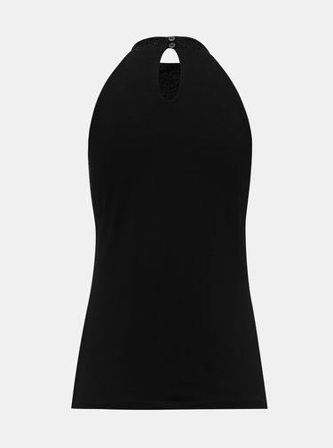 Černý krajkový top Dorothy Perkins