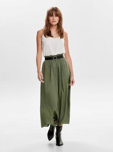 Zelená maxi sukňa ONLY Venedig
