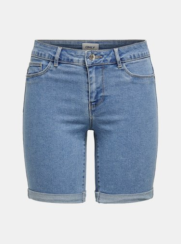 Modré džínové kraťasy ONLY Sun