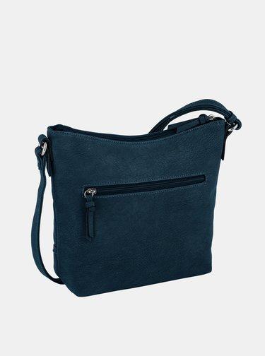 Tmavě modrá crossbody kabelka Tom Tailor Imeri