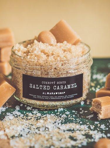 Cukrový scrub Almara Soap Salted Caramel