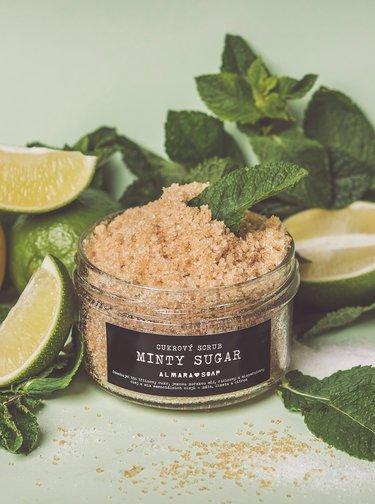 Cukrový scrub na tělo Almara Soap Minty sugar