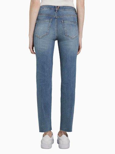 Modré dámské slim fit džíny My True Me Tom Tailor