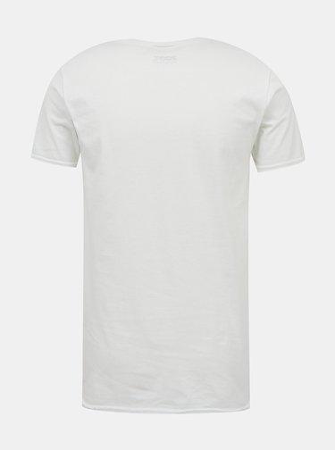 Bílé pánské tričko s potiskem ZOOT Original Hody, hody