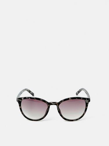 Šedé vzorované sluneční brýle Dorothy Perkins
