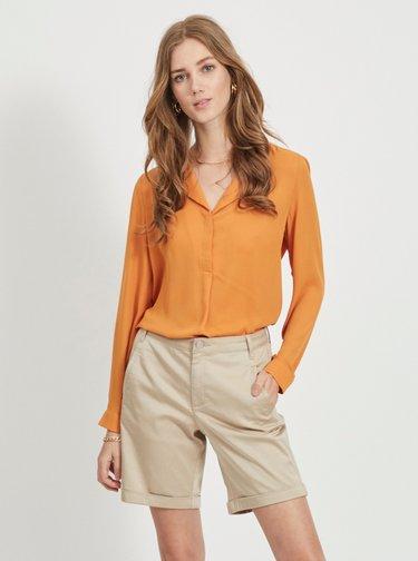 Oranžová halenka VILA