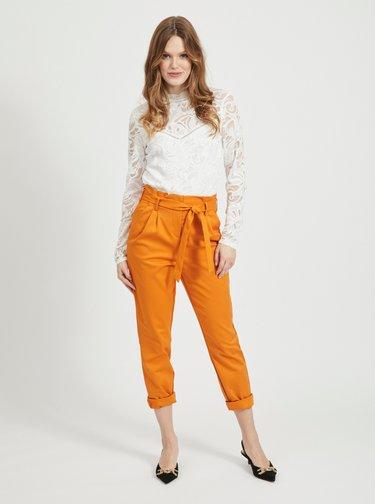 Oranžové nohavice VILA