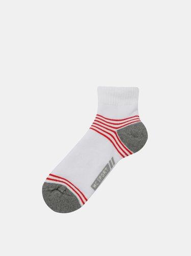 Sada dvou párů bílých ponožek Marie Claire