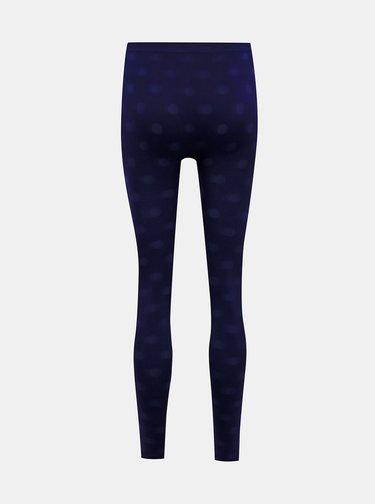 Tmavě modré puntíkované legíny Marie Claire