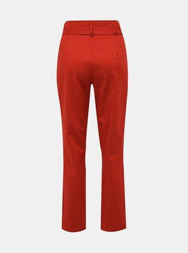 Cihlové kalhoty VILA