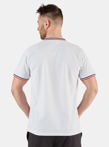 Bílé pánské polo tričko SAM 73