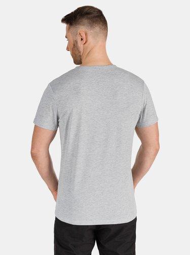 Svetlošedé pánske tričko SAM 73
