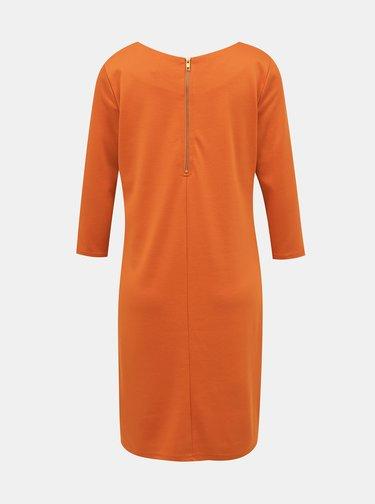 Oranžové šaty VILA
