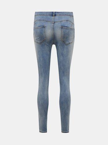Modré slim fit džíny VILA