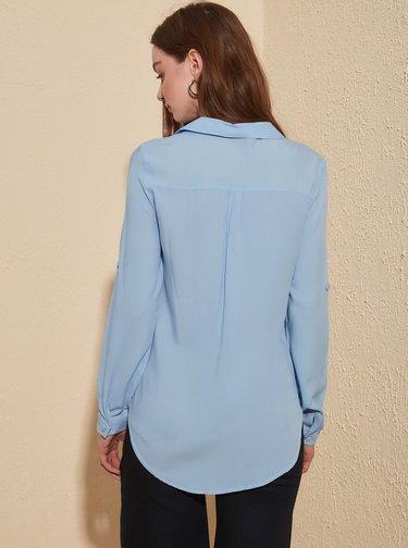 Modrá košile Trendyol